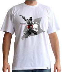 Акция на Футболка ABYstyle Assassin's Creed M Белая (ABYTEX239M) от Rozetka