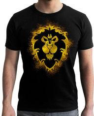 Акция на Футболка ABYstyle World of Warcraft Alliance S Черная (ABYTEX442S) от Rozetka