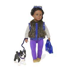 Кукла LORI Илисса и собака терьер Индиана 15 сантиметров (LO31016Z) от MOYO