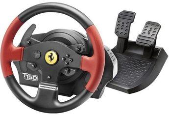 Акция на Руль и педали Thrustmaster для PC/PS3/PS4 T150 Ferrari (4160630) от MOYO