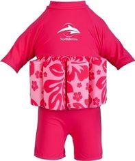 Акция на Купальник - поплавок Konfidence Floatsuit Hibiscus Pink 2-3 года (FS05-B-03) от Stylus