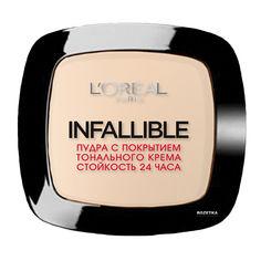 Компактная пудра для лица L'Oreal Infallible стойкость 24 ч 123 Теплая ваниль (3600522536307) от Rozetka
