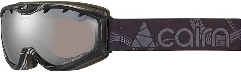 Акция на Горнолыжная маска Cairn Jam SPX3 Black Silver Curve (0.58057.0.8202) от Rozetka