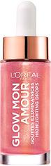 Акция на Хайлайтер для лица L'Oreal Paris жидкий Glow Mon Amour 4 Розовое золото 15 мл (3600523707133) от Rozetka