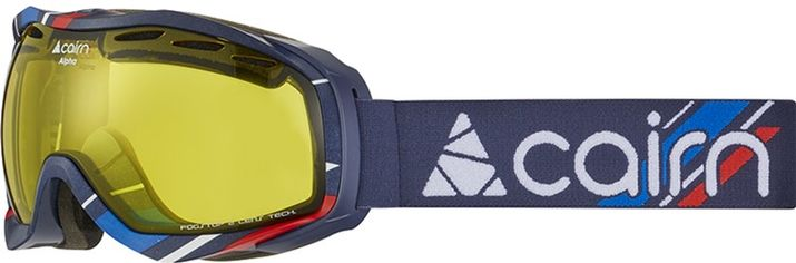 Акция на Горнолыжная маска Cairn Alpha SPX1 Midnight Patriot (0.58085.7.6390) от Rozetka