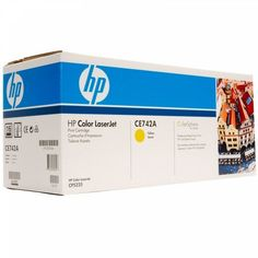 Акция на Картридж лазерный HP CLJ CP5220 series yellow (CE742A) от MOYO