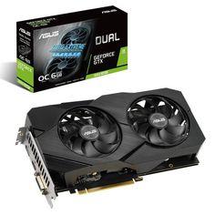 Акция на Вiдеокарта ASUS GeForce GTX1660 SUPER 6GB GDDR6 DUAL EVO OC (DUAL-GTX1660S-O6G-EVO) от MOYO