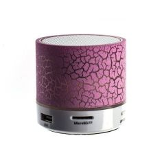 Акция на Портативная Bluetooth акустика H08 Violet от Територія твоєї техніки