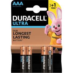 Батарейки DURACELL LR03 MN2400 Ultra уп. 1x(3+1) шт. (5004812) от Foxtrot