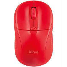 Акция на Мышь TRUST Primo Wireless Mouse Red (20787) от Foxtrot