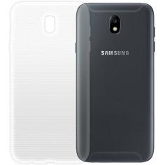 Акция на Чехол GLOBALCASE (TPU) Extra Slim для Samsung J7 (J730) 2017 светлый от Foxtrot