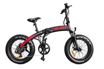 Электровелосипед Like.bike Colt (Black/Red) от Citrus