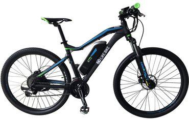 Электровелосипед Like.Bike Shark (matte black/blue) от Citrus