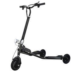 Дрифт-трайк Windtech Crazy Scooter (black) от Citrus