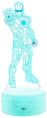 Ночник 3D Lamp Illusion (Iron Man) от Citrus