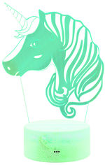 Ночник 3D Lamp Illusion (Unicorn) от Citrus