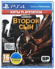 Диск InFamous: Второй сын (Blu-ray, Russian version) для PS4 от Citrus