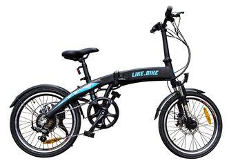 Электровелосипед Like.Bike Flash (Black/Blue) от Citrus