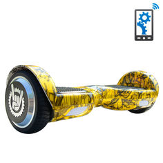 Гироборд Like.Bike X6i (yellow skull) от Citrus