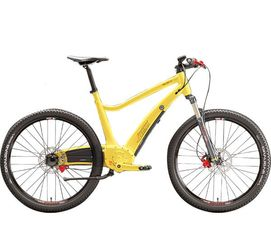 Электровелосипед Myneox Crosser (yellow) от Citrus
