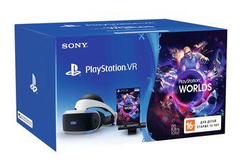Шлем виртуальной реальности PlayStation VR Worlds (Black/Grey) + Камера от Citrus