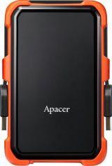 """Жесткий диск APACER 2.5"""" USB 3.1 AC630 2TB Black/Orange (AP2TBAC630T-1) от MOYO"""