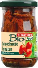 Вяленые томаты в масле Rinatura органические 180 г (4013200259372) от Rozetka
