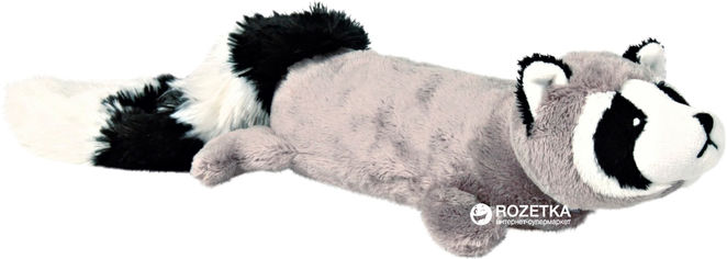 Игрушка для собак Енот плюшевый с пищалкой Trixie 35989 46 см (4011905359892) от Rozetka