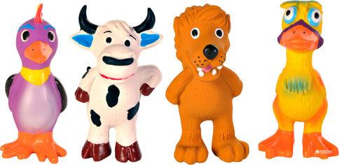 Игрушка для собак Набор животных с пищалками Trixie 3513 11 см 4 шт (4011905351315) от Rozetka
