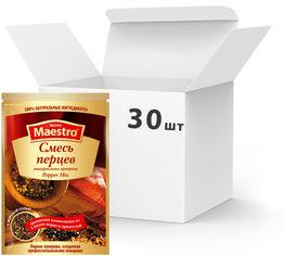 Акция на Упаковка приправы Ред Хот Маэстро Смесь перцев 25 г х 30 шт (5060140290353) от Rozetka