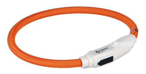 Ошейник для кошек Trixie 41941 светящийся с USB 35 см 7 мм Оранжевый (4011905419411) от Rozetka