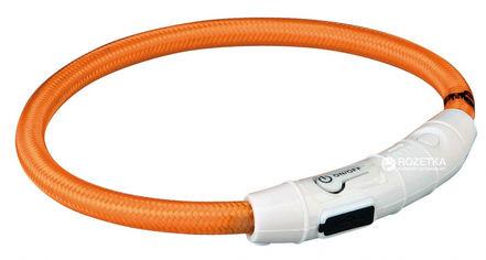 Акция на Ошейник Trixie 12705 светящийся с USB L-XL 65 см 7 мм Оранжевый (4053032127050) от Rozetka