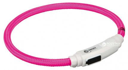 Ошейник для кошек Trixie 41942 светящийся с USB 35 см 7 мм Розовый (4011905419428) от Rozetka