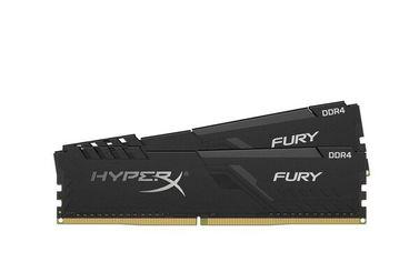 Акция на Память для ПК HyperX DDR4 2400 16GB Fury Black  (HX424C15FB3K2/16) от MOYO