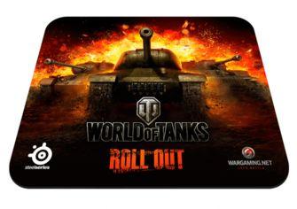 Игровая поверхность SteelSeries Qck World of Tanks (67269) от MOYO