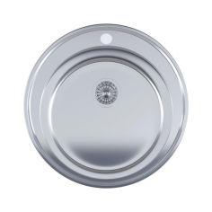 Акция на Кухонная мойка IMPERIAL 510-D Micro Decor IMP510DDEC от Rozetka
