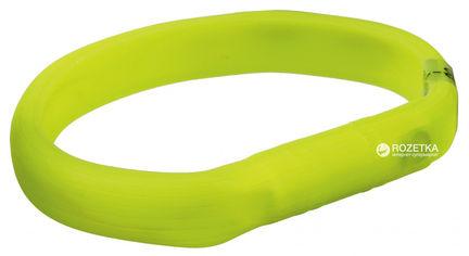 Акция на Ошейник Trixie 12684 светящийся с USB M-L 50 см 18 мм Зеленый (4053032126848) от Rozetka