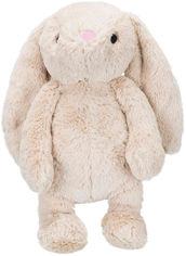 Мягкая игрушка Кролик Bunny с пищалкой Trixie 38 см Бежевая (4011905358864) от Rozetka