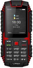 Мобильный телефон Sigma mobile X-treme DT68 Black-Red от Територія твоєї техніки