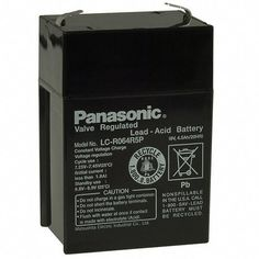 Аккумуляторная батарея Panasonic 6V 4.5Ah (LC-R064R5P) от MOYO