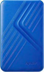 """Жесткий диск APACER 2.5"""" USB 3.1 AC236 2TB Blue (AP2TBAC236U-1) от MOYO"""