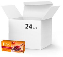 Упаковка чая травяного пакетированного TESS Cherry 24 шт по 25 пакетиков (4823096802091) от Rozetka