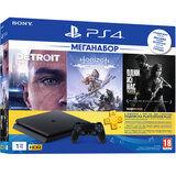 Игровая приставка SONY PS4 1ТВ + 3 игры и подпиской PS Plus 3 мес (9926009) от Foxtrot