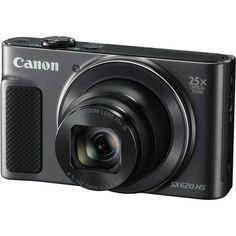 Акция на Фотоаппарат CANON PowerShot SX620 HS Black (1072C014) от MOYO