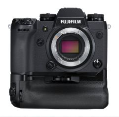 Акция на Фотоаппарат FUJIFILM X-H1 body Black + батарейный блок VPB-XH1 (16568767) от MOYO
