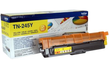 Акция на Картридж лазерный Brother HL-3140CW, DCP-9020CDW yellow max (TN245Y) от MOYO