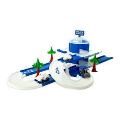Акция на Трек Wader Play tracks city Отделение полиции (53520) от Будинок іграшок