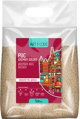 Акция на Рис Art Foods Басмати Golden пропаренный 1121 5 кг (4820191592636) от Rozetka