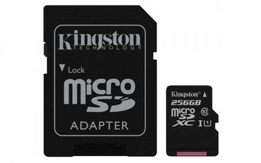 Карта памяти Kingston microSDXC 256GB Class 10 UHS-I R80MB/s + SD-адаптер от MOYO