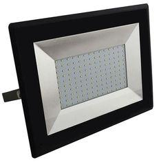 Акция на Прожектор уличный LED V-TAC SKU-5966, E-series, 100W, 230V, 6500К, черный (3800157625593) от MOYO
